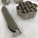 Testproben 3D-gedruckter Wärmetauscher