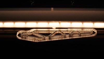 Halogenlampe sorgt für thermische Vernetzung