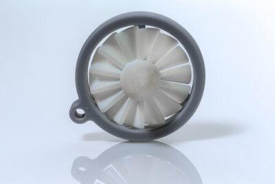 3D-Druck-Beispiel Nano Rigid Modell Grey