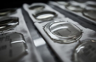 3D-gedruckte Brillenlinsen