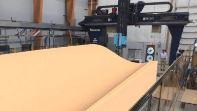 3D-gedrucktes Windblattformsegment