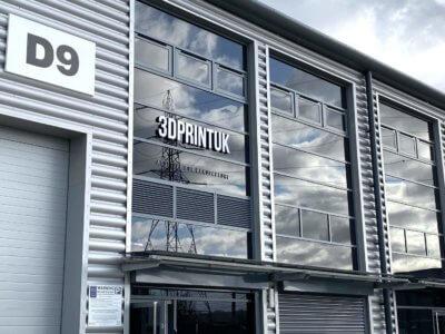 Firmengebäude von 3DPRINTUK in London