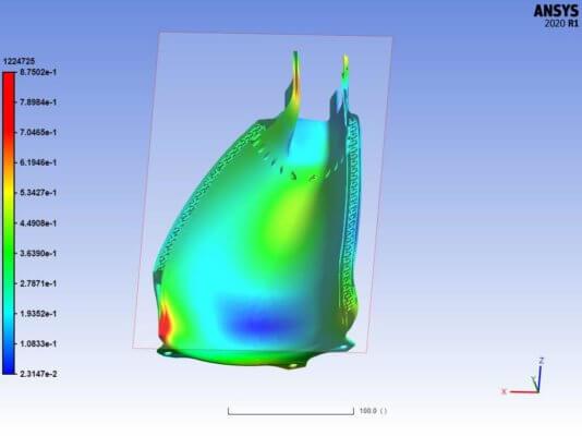Screenshot Ansys Material Designer