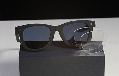 Brille mit Lins aus 3D-Drucker