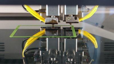 3D-Drucker Nahaufnahme