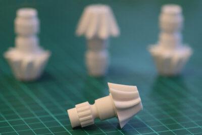 3D-gedruckte Objekte aus Liqcreate Composite-X Resin