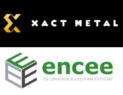 Xact Metal und encee Logos