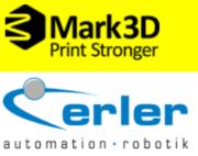 Mark3D und erler GmbH Logos