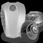 Metallobjekte aus dem 3D-Drucker