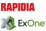 Rapidia und ExOne Logo