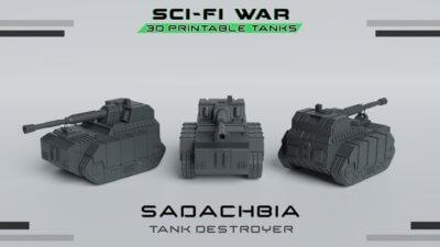 Sci-Fi-War Modell Sadachiba