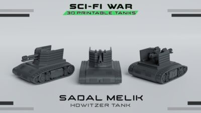 Sci-Fi-War Modell Sadal Melik