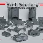 Sci-Fi Scenery Werbebild