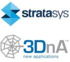 Stratasys und 3DnA Logo