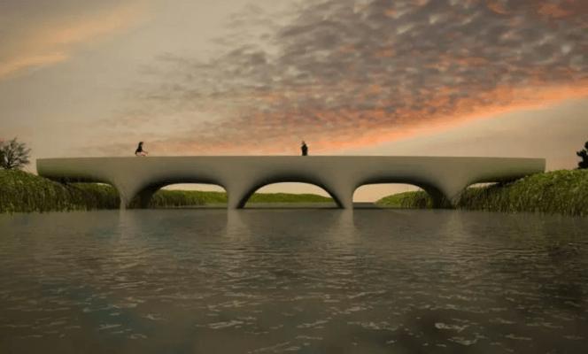 3D-Druck-Brücke