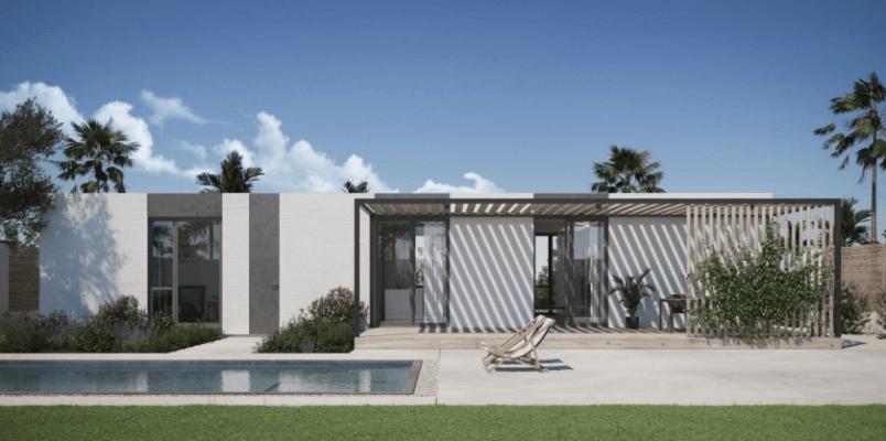 3D-Druck-Haus in Rancho Mirage