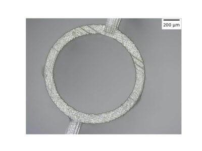 Beispiel für 3D-gedruckte Kapillare