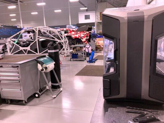3D-Drucker METHOD X bei Prodrive