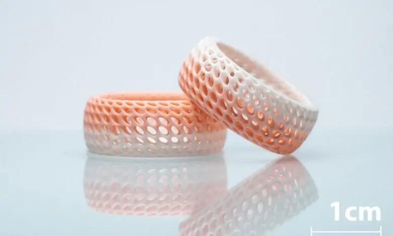 3D-Druck-Beispiel für Multimaterial-Keramiken