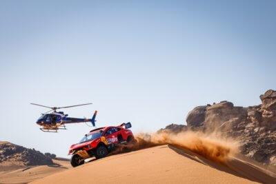 Hunter T1 an der Rallye Dakar