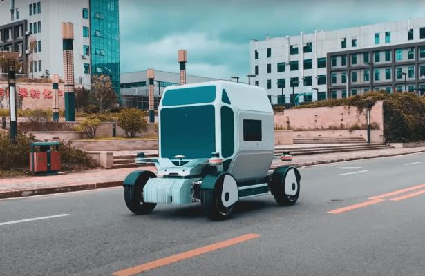 3D-gedrucktes selbst fahrendes Auto von PIX