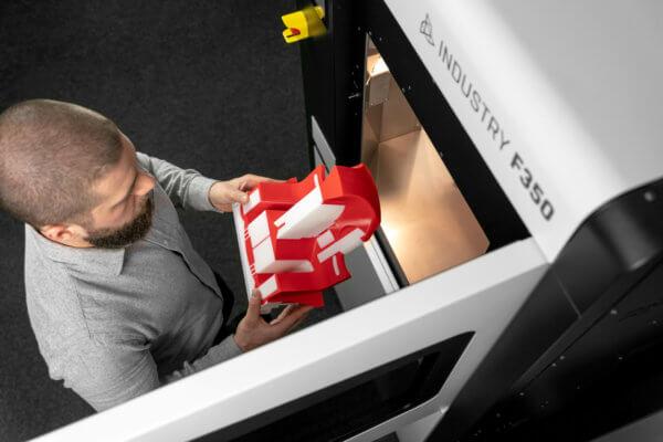 3D-Druck-Objekt aus 3DGence FFF-3D-Drucker INDUSTRY F350