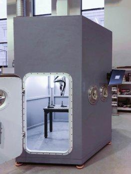 3D-Drucker Prism von außen