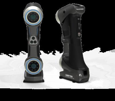 3D-Scanner SILVER von vorne und hinten