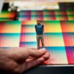 Beispiel Farbobjekt aus 3D-Drucker