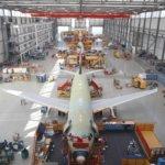 Produktionsstätte von Airbus A320