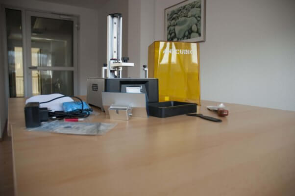 Foto Anycubic Photon Mono beim Testen