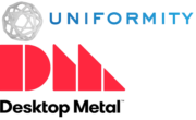 Desktop Metal und Uniformity Labs Logos