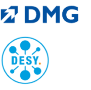 DMG und DESY Logos