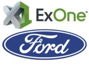 Logos Ford und ExOne