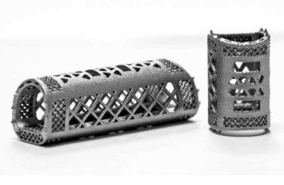 3D-gedruckte Wirbelsäulenfusionskäfige