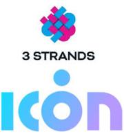 3Strands und ICON Logos