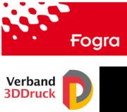 Fogra und Verband 3DDruck Logo