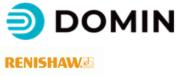 Domin und Renishaw Logo