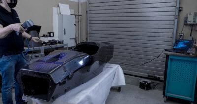 3D-Scanner FreeScan UE im Einsatz