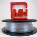 3D-Druck-Filamentrolle und M.Holland-Logo