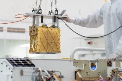 Sistema MOXIE integrado en Perseverance Rover