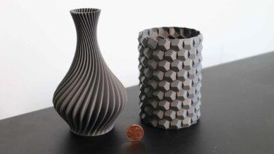 3D-Druck-Beispiel Wizard 480+ PLA-Vase