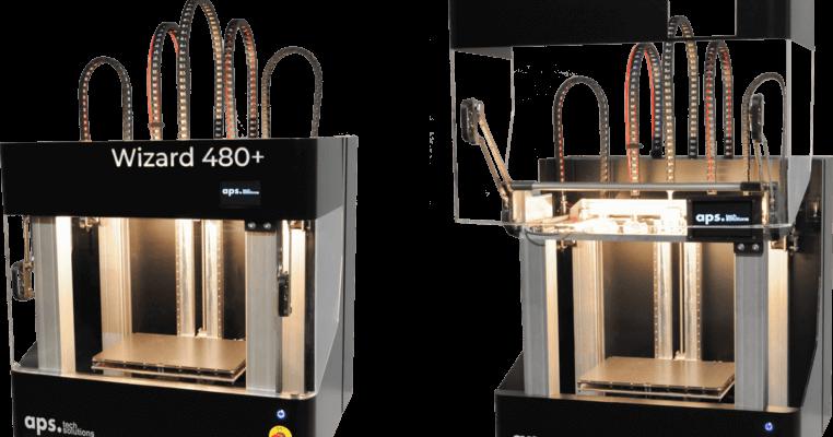 3D-Drucker Wizard 480+ von APS Tech Solutions