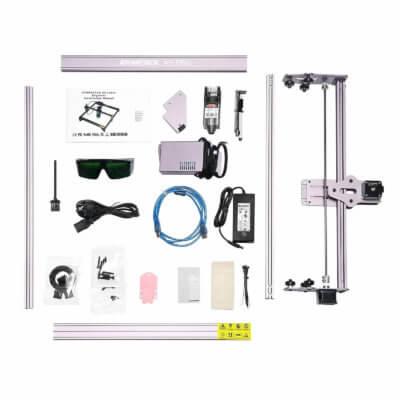 Bauteile und Lieferumfang ATOMSTACK A5 Pro 40W