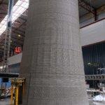3D-gedruckte Turmbasis
