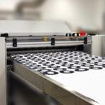 Beispiel Laserdrucker beim Drucken von Zahnradlayern