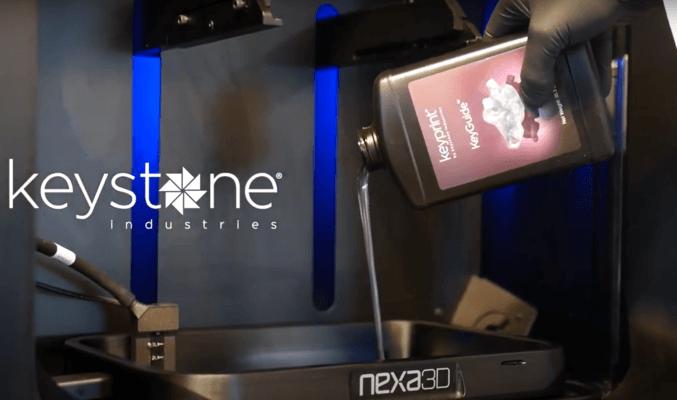 3D-Drucker NXD200 und Material von Keystone