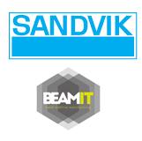 Sandvik BEAMIT Logos