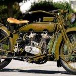 Harley Davidson aus dem Jahr 1919