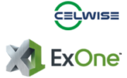 Celwise AB und ExOne Logo